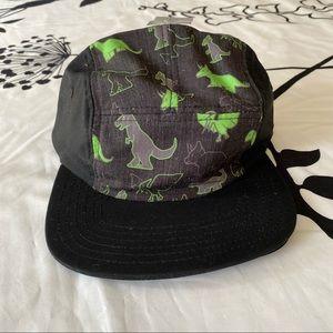 Hot Topic Dino Green Black Camper